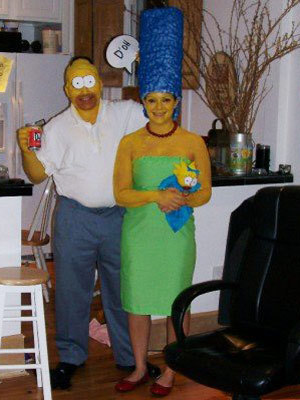 Косплей Симпсоны