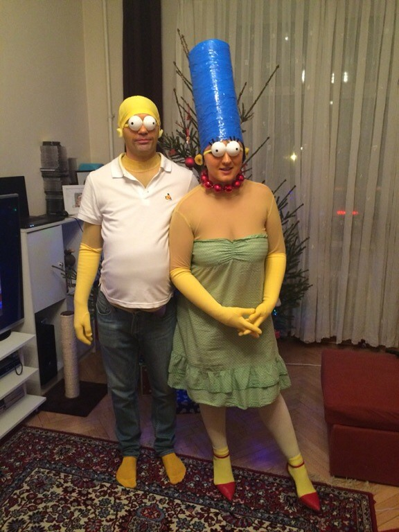 Симпсоны по домашнему