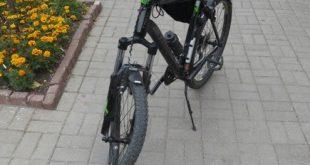 восьмерка на велосипеде после ямы