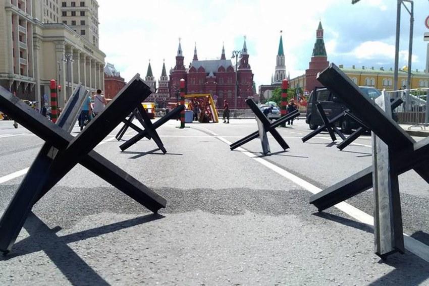 Перфоманс на День России