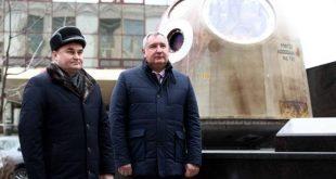 Рогозин открыл памятник, новости космонавтики