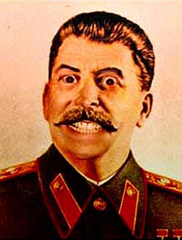 Сталин ржет