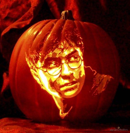 Гарри Поттер к Хэллоуину готов