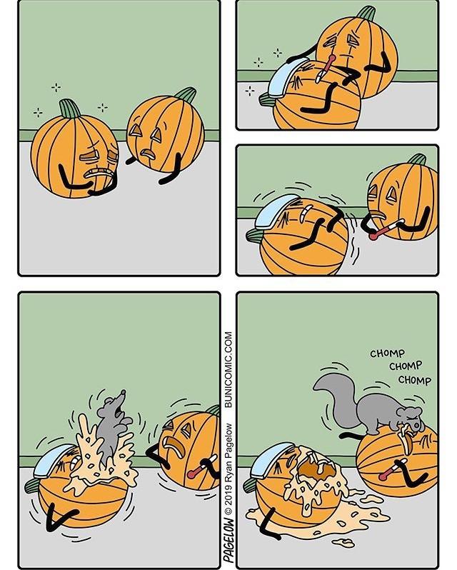 Комиксы про Хэлоуин