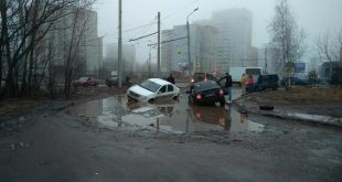 Ярославль, Дзержинский район, улицы Волгоградская/Труфанова, декабрь 2019