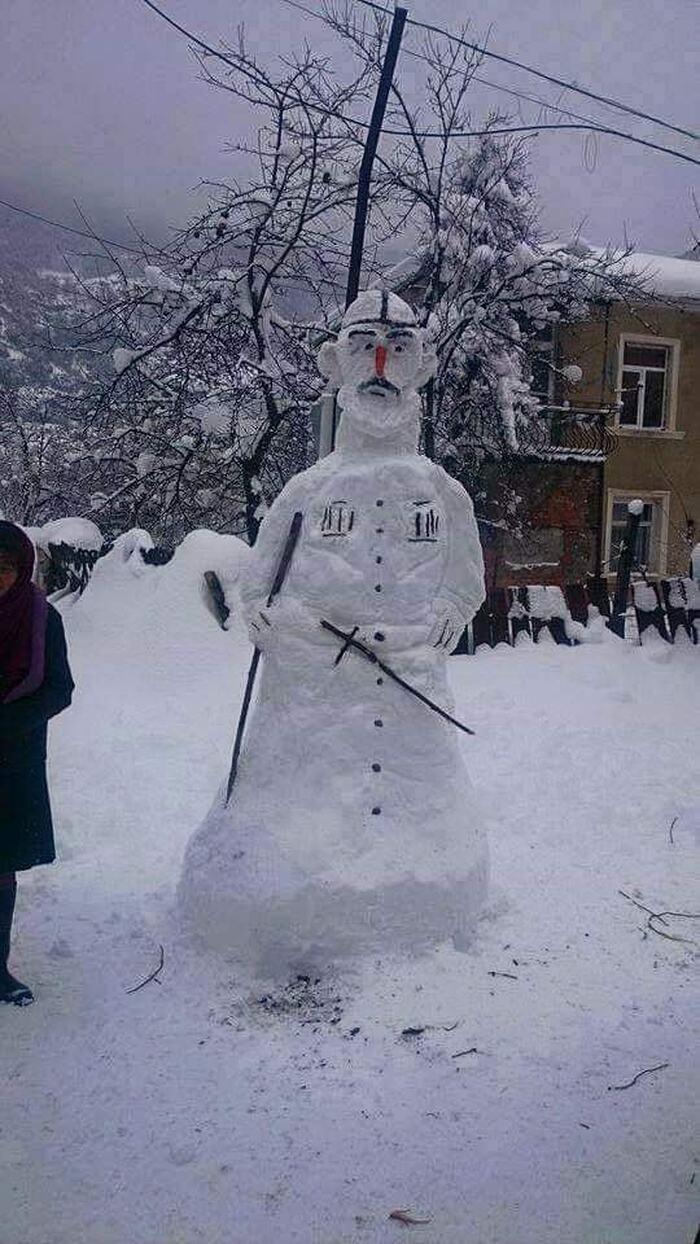 грузинский снеговик