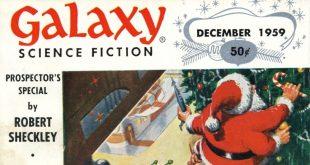 Galaxy - подборка новогодних обложек фантастического журнала
